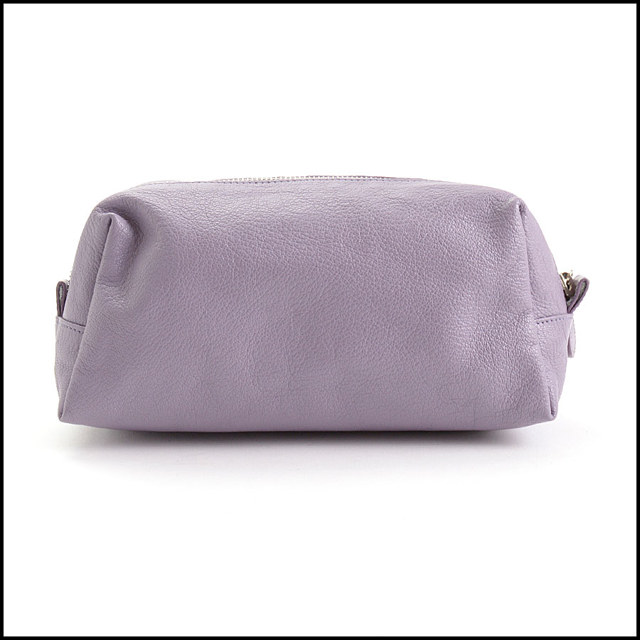 RDC10661 Balenciaga Glycine Lilac Silver Giant Pencil Case back