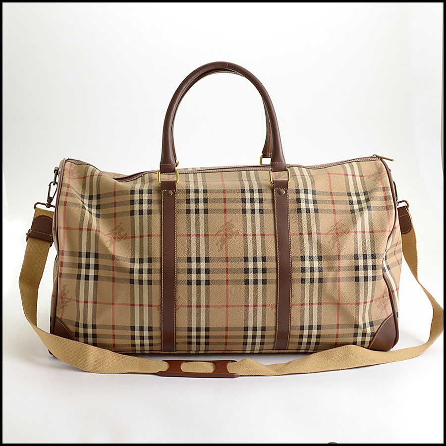 RDC10200 Burberry Boston Travel Bag back