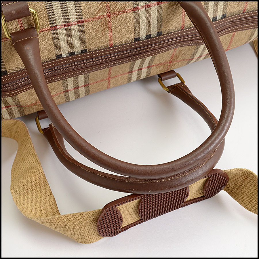 RDC10200 Burberry Boston Travel Bag handle