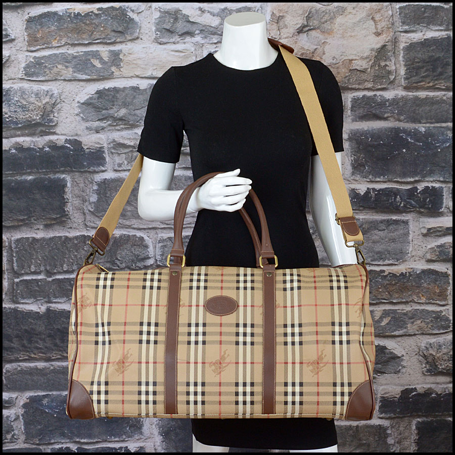 RDC10200 Burberry Boston Travel Bag model