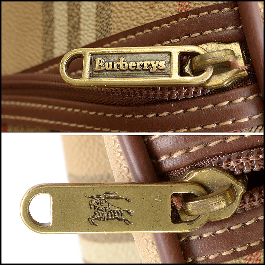 RDC10200 Burberry Boston Travel Bag tag 1