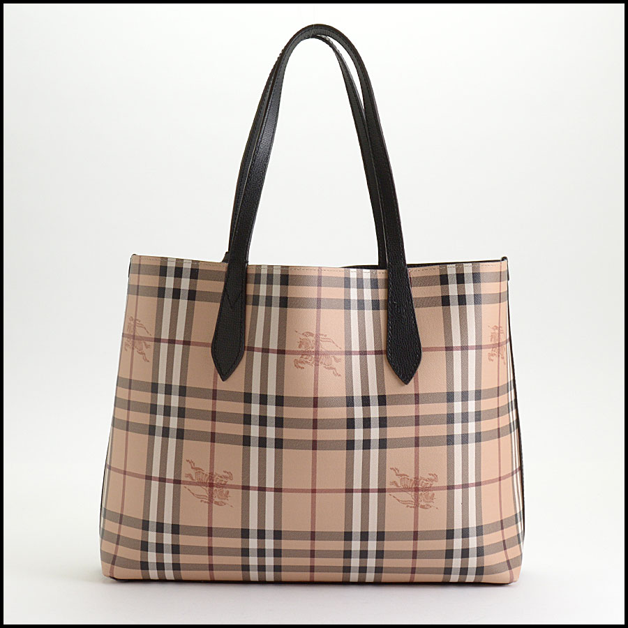 RDC10189 Burberry Reversible Tote back