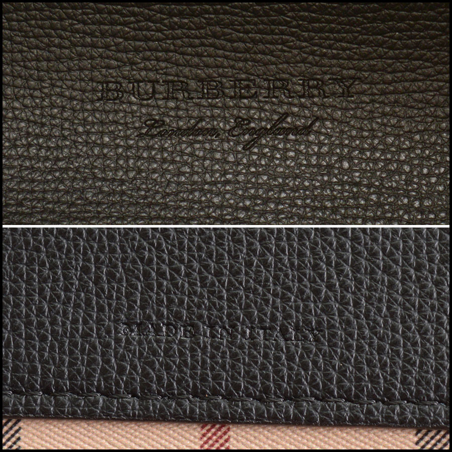 RDC10189 Burberry Reversible Tote tag