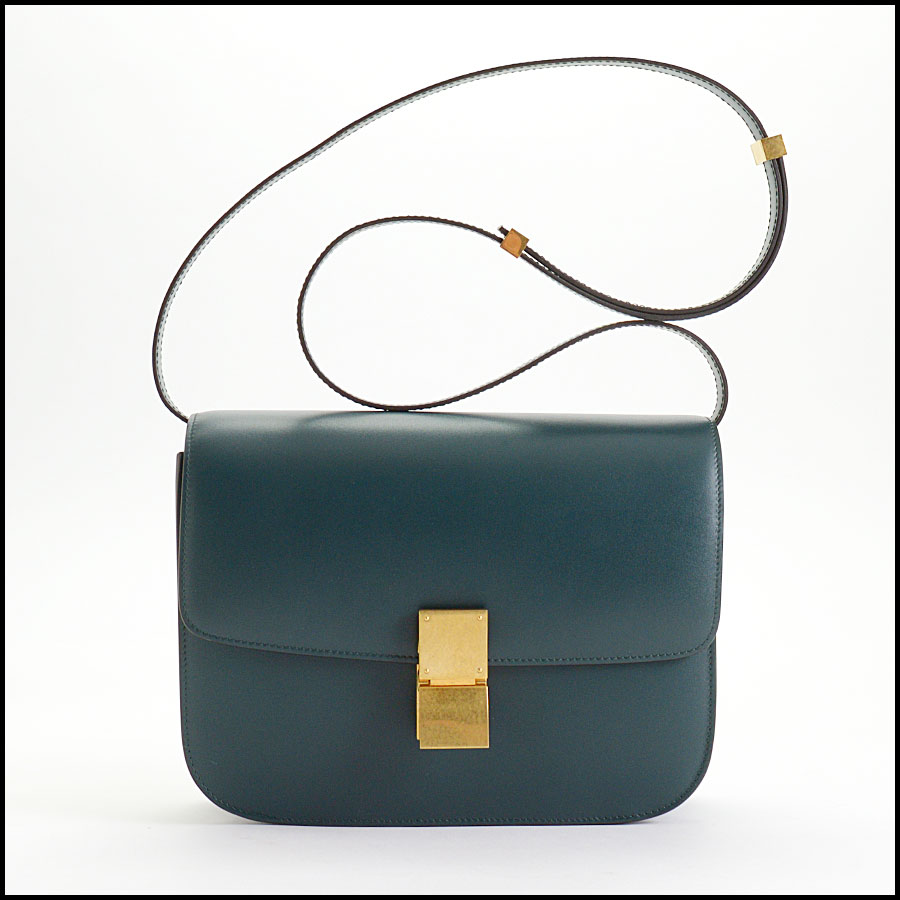 RDC10360 Celine Amazone Green Medium Classic Bag