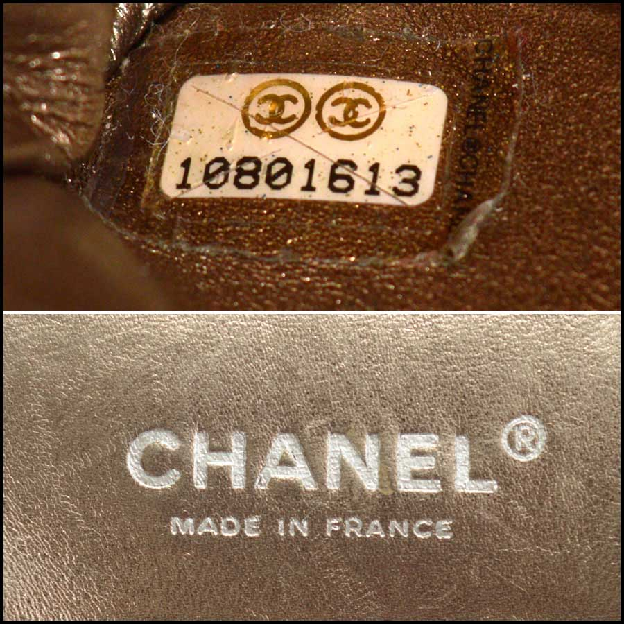RDC11440 Chanel Bronze 227 Jumbo Reissue tag