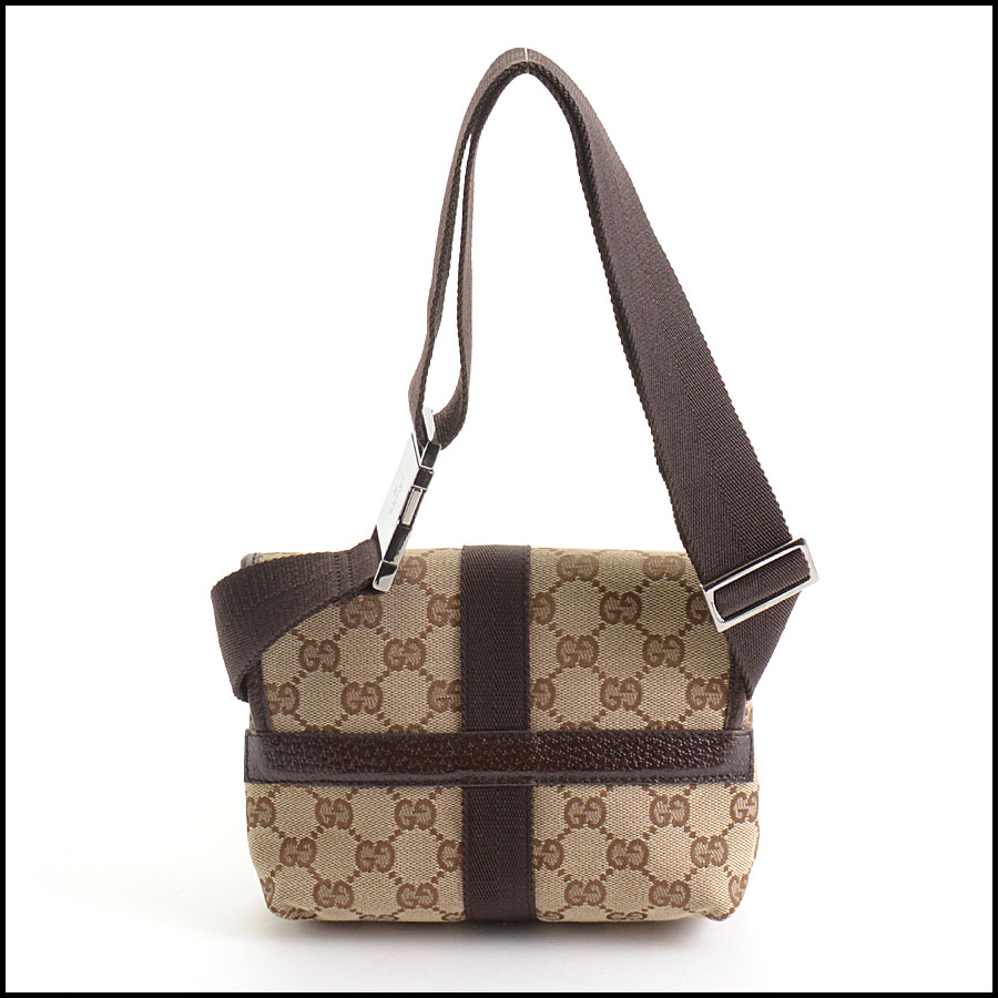 RDC10540 Gucci Monogram Canvas Bumbag/Fannypack back