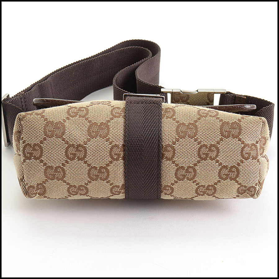 RDC10540 Gucci Monogram Canvas Bumbag/Fannypack bottom