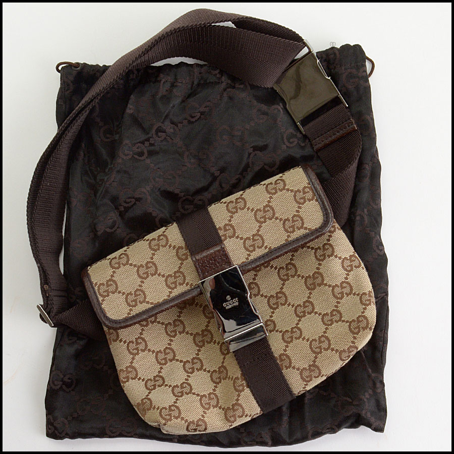 RDC10540 Gucci Monogram Canvas Bumbag/Fannypack includes