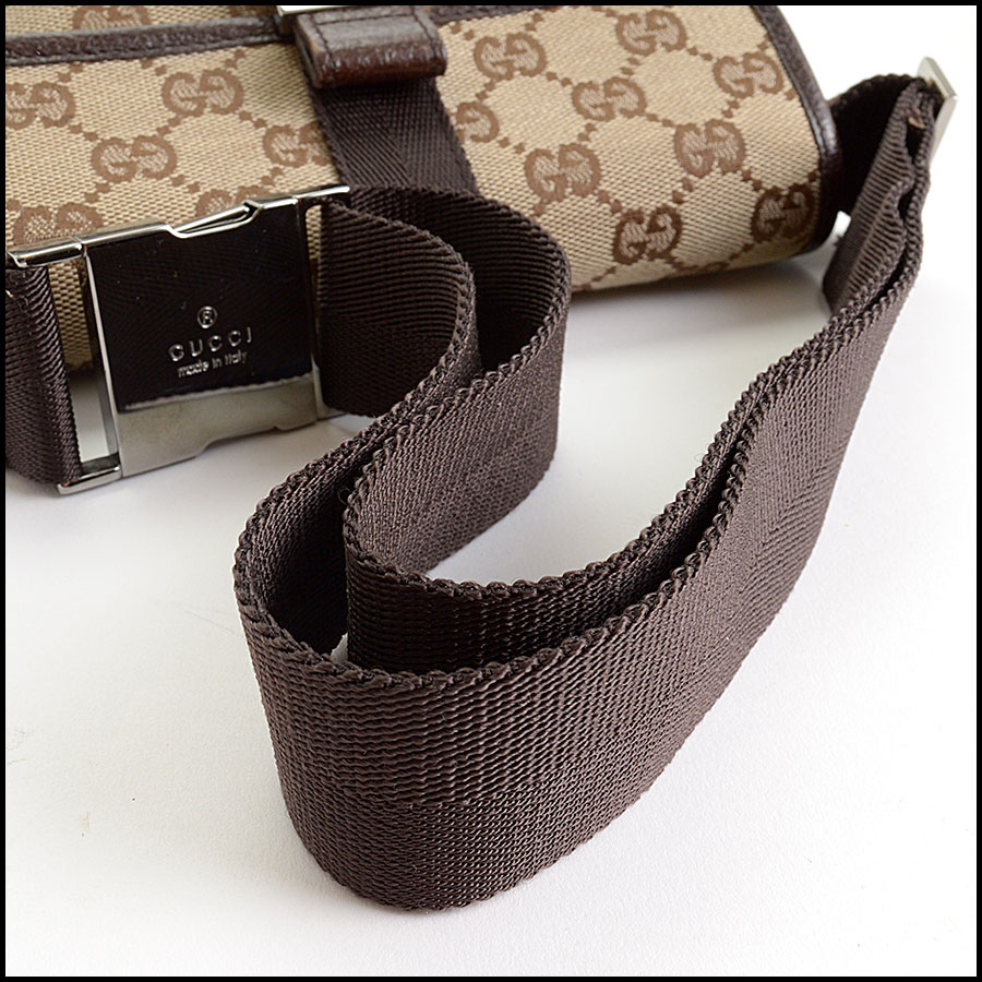 RDC10540 Gucci Monogram Canvas Bumbag/Fannypack handle