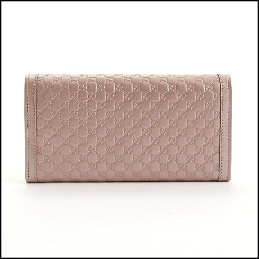 RDC10838 Gucci Pink Sukey Flap Wallet back