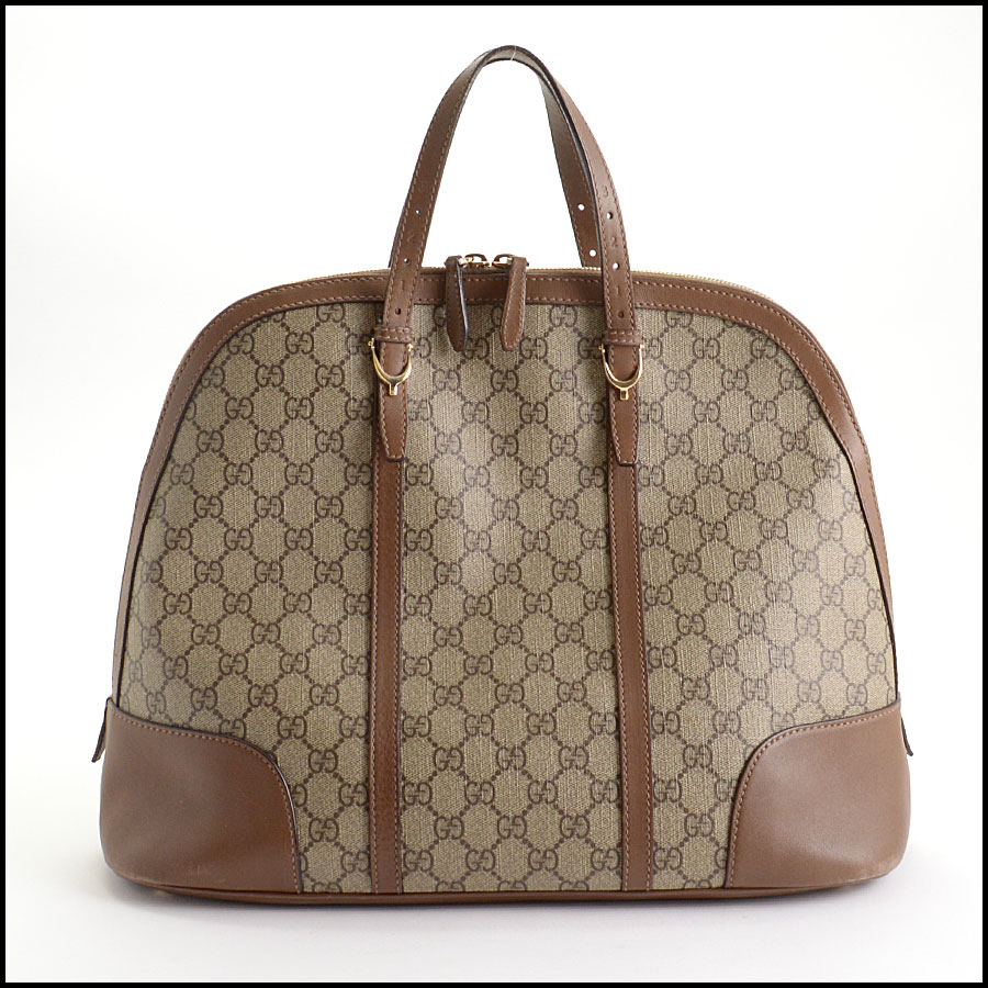 RDC10547 Gucci Coated Canvas Large Tote Bag back