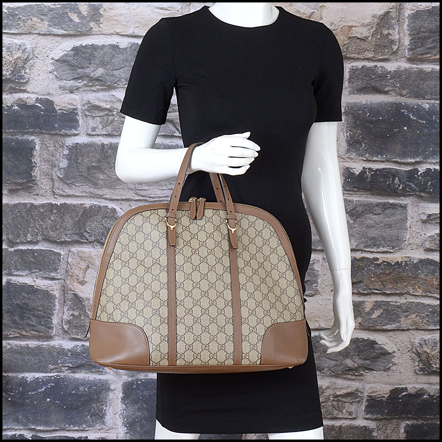 RDC10547 Gucci Coated Canvas Large Tote Bag model