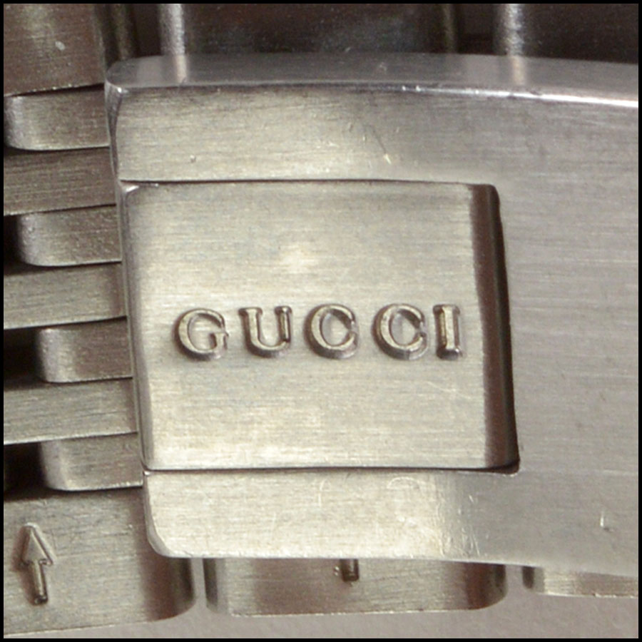 RDC10804 Gucci Stainless Steel Pink Dial Watch tag 1
