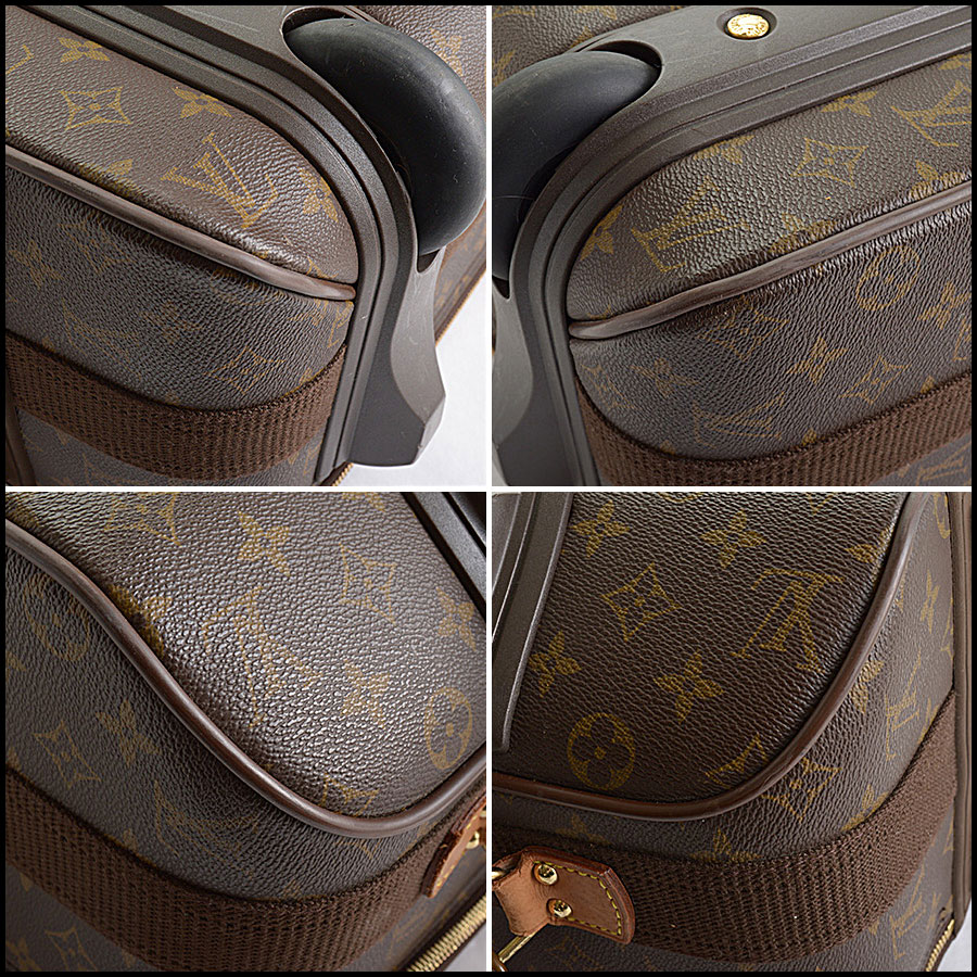 RDC10793 Louis Vuitton Monogram Pegase 55 Suitcase corners