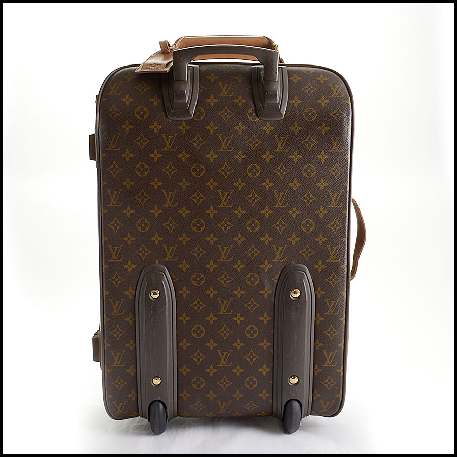 RDC10793 Louis Vuitton Monogram Pegase 55 Suitcase back