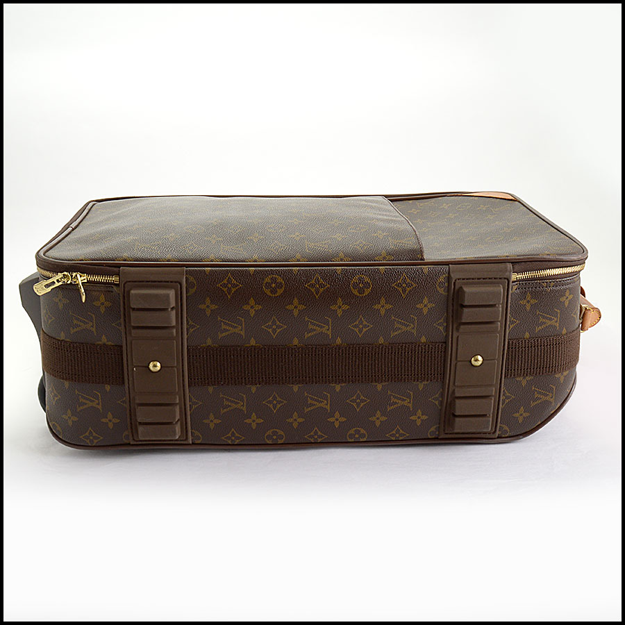 RDC10793 Louis Vuitton Monogram Pegase 55 Suitcase bottom