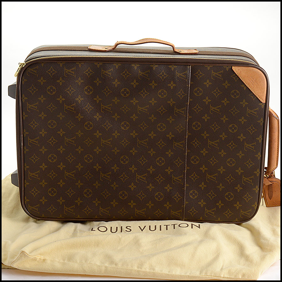 RDC10793 Louis Vuitton Monogram Pegase 55 Suitcase includes 1