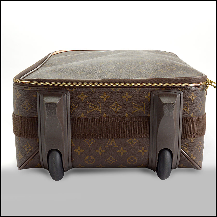 RDC10793 Louis Vuitton Monogram Pegase 55 Suitcase includes 2