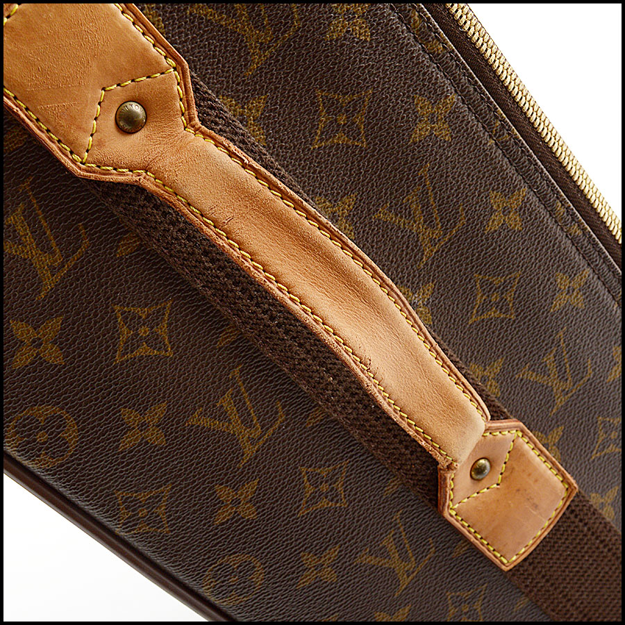 RDC10793 Louis Vuitton Monogram Pegase 55 Suitcase handle