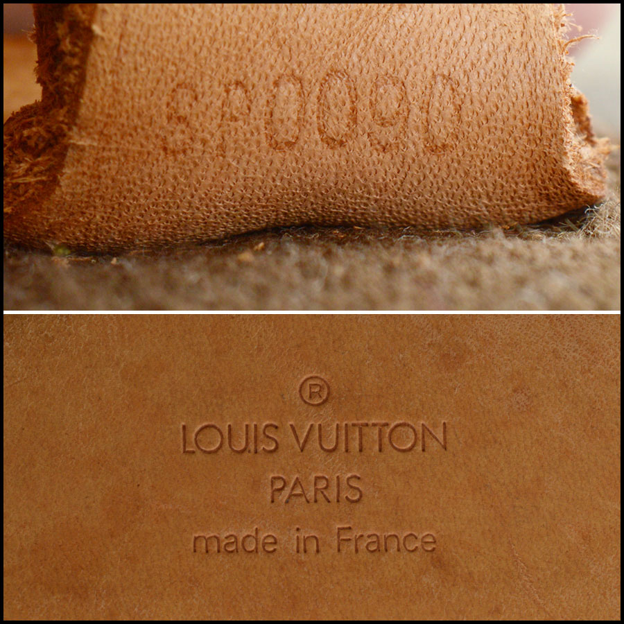 RDC10793 Louis Vuitton Monogram Pegase 55 Suitcase tag
