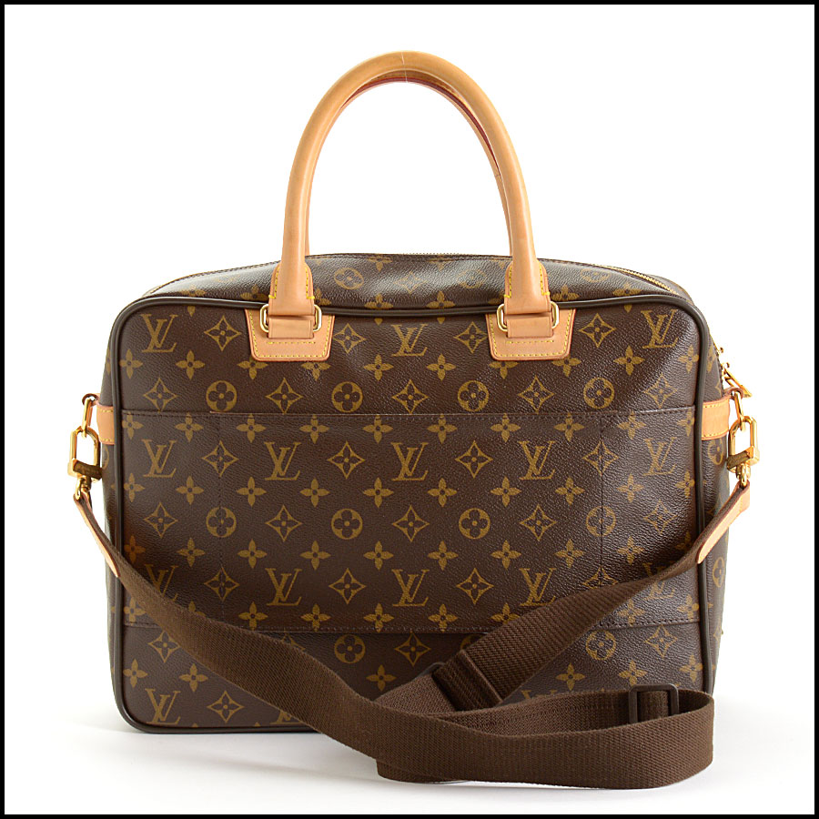 RDC10982 Louis Vuitton Monogram Computer Bag Briefcase back