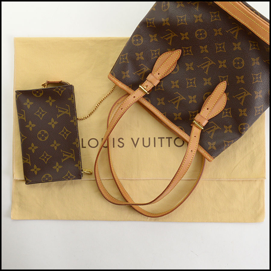 RDC10924 Louis Vuitton Monogram Petit Bucket w/Pouch includes