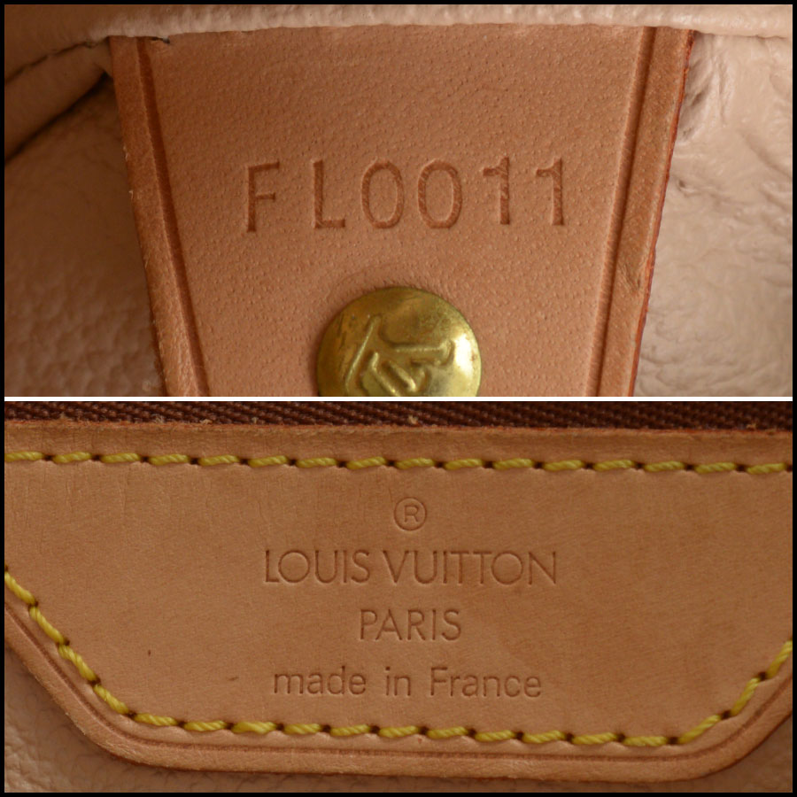 RDC10924 Louis Vuitton Monogram Petit Bucket w/Pouch corners