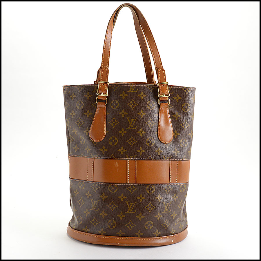 RDC11043 Louis Vuitton French Co. Bucket GM w/Pouch back