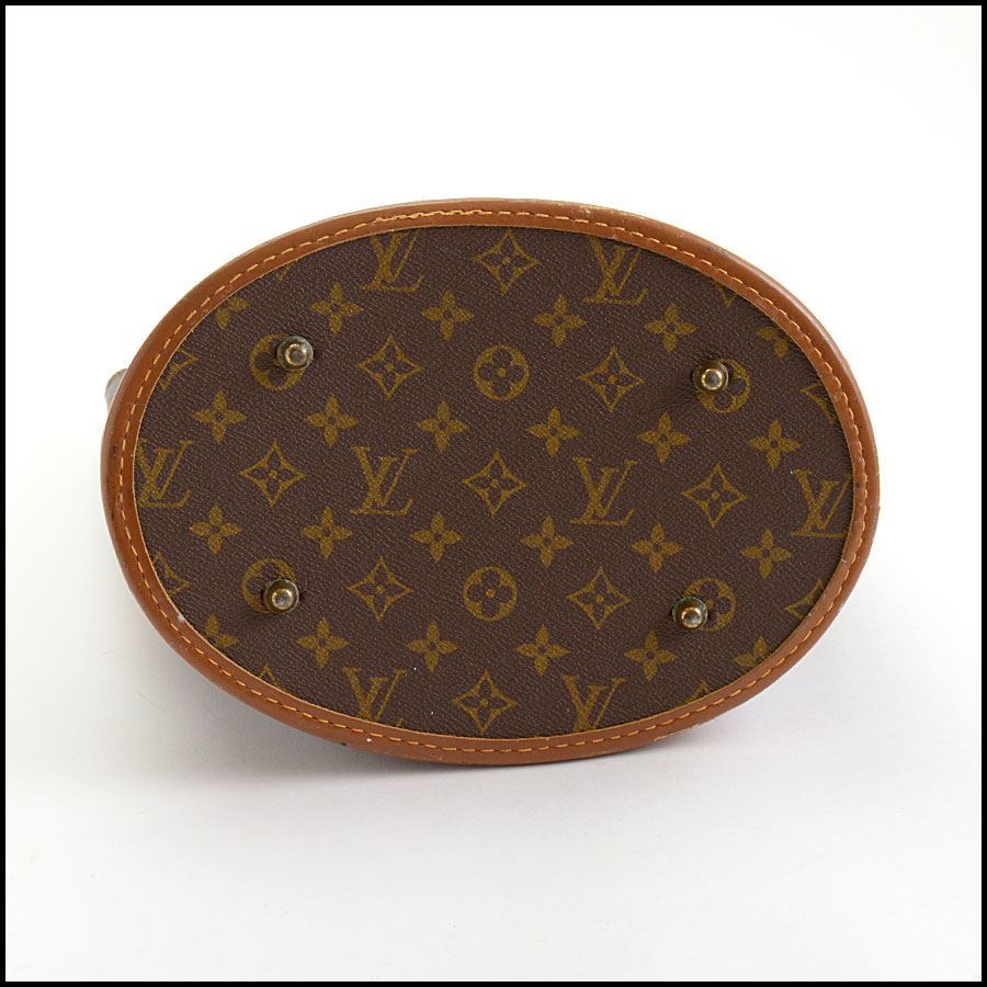 RDC11043 Louis Vuitton French Co. Bucket GM w/Pouch bottom