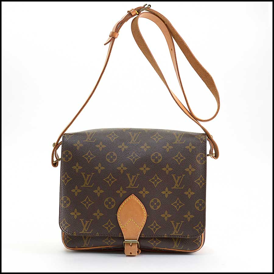 RDC11129 Louis Vuitton Monogram Cartouchiere GM Crossbody Bag