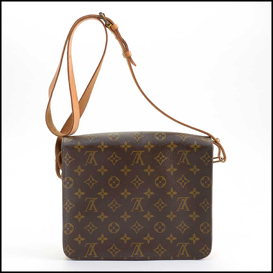 RDC11129 Louis Vuitton Monogram Cartouchiere GM Crossbody Bag back
