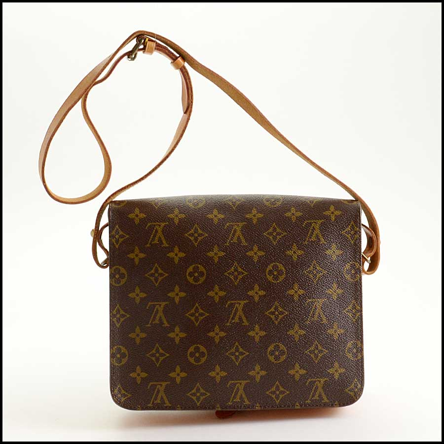RDC11340 Louis Vuitton Monogram Cartouchiere GM Bag back