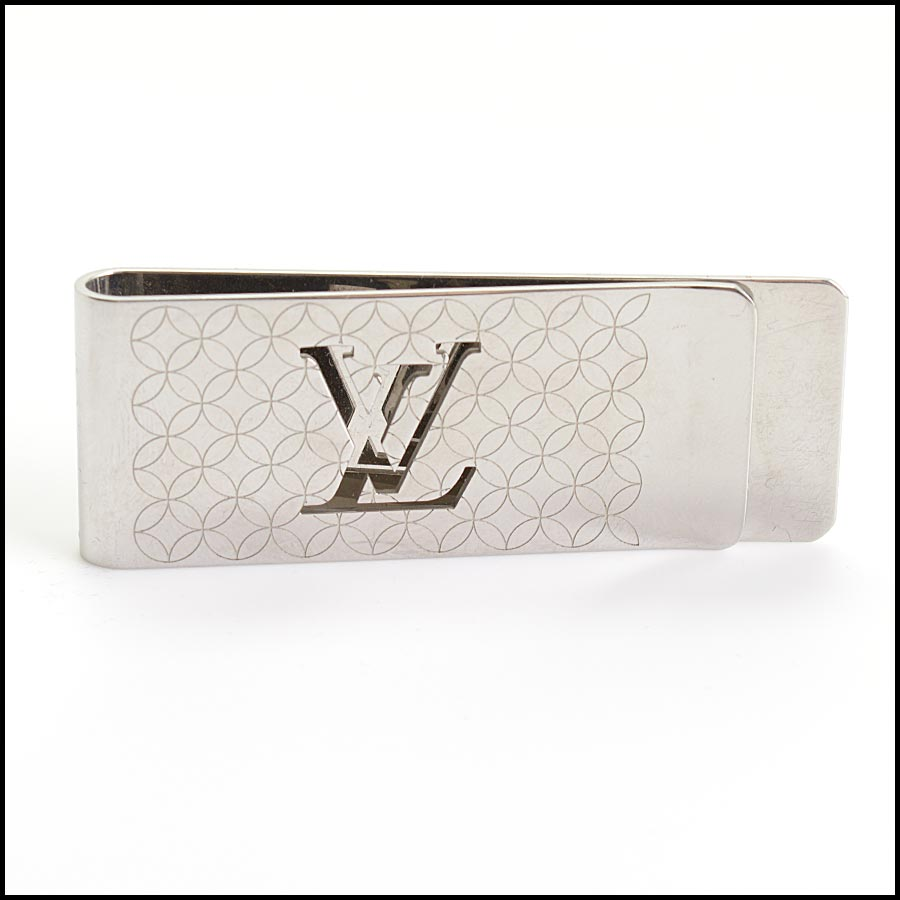 RDC11253 Louis Vuitton Silver Champs Elysees Money Clip