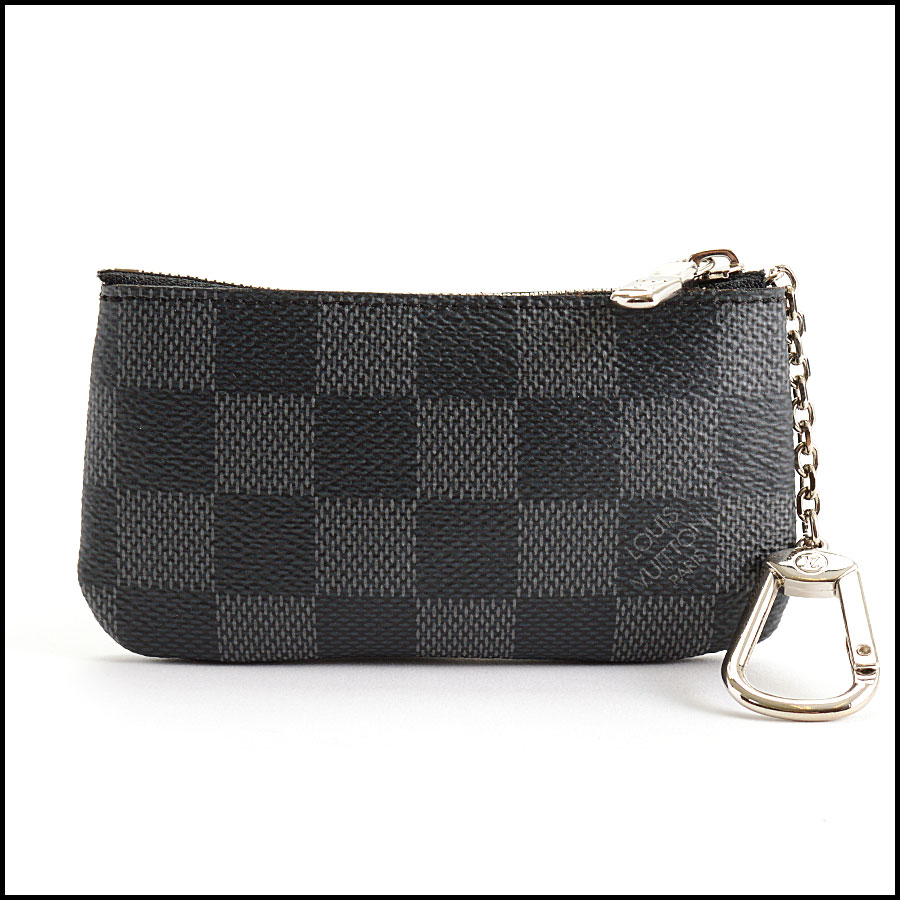 RDC11055 Louis Vuitton Damier Graphite Pochette Cles Coin Purse back