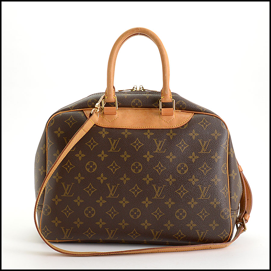 RDC11040 Louis Vuitton Monogram Deauville Bag w/Strap