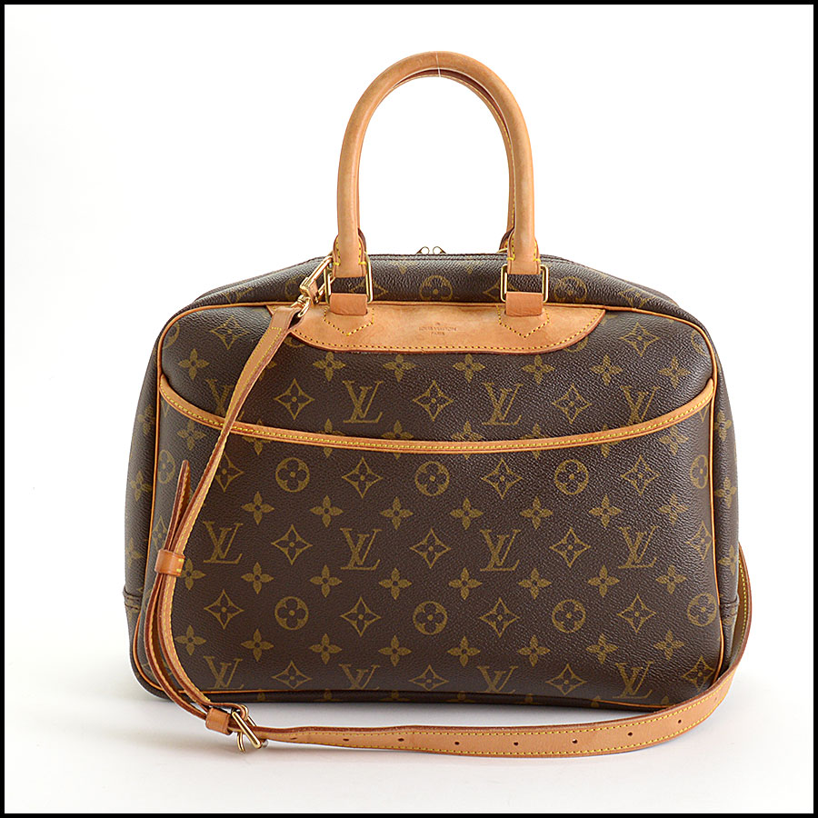 RDC11040 Louis Vuitton Monogram Deauville Bag w/Strap back