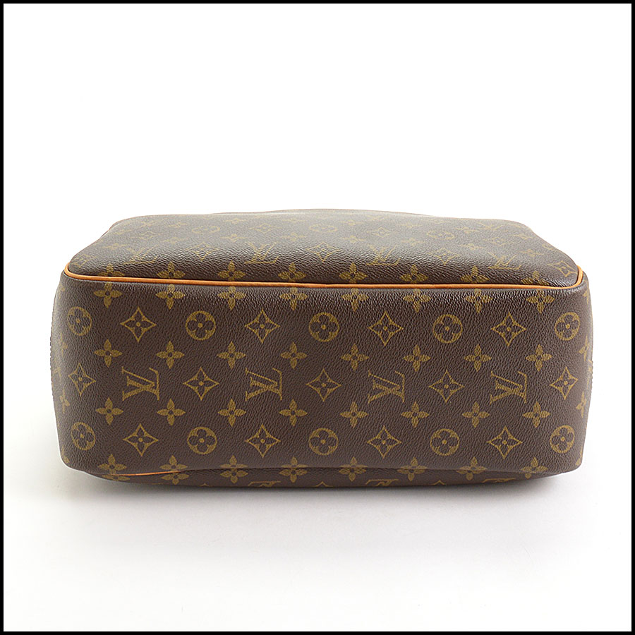 RDC11040 Louis Vuitton Monogram Deauville Bag w/Strap bottom