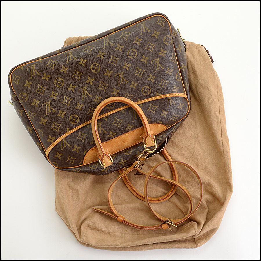 RDC11040 Louis Vuitton Monogram Deauville Bag w/Strap includes