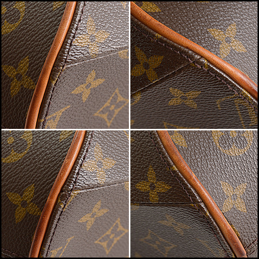 RDC10913 Louis Vuitton LV Monogram Ellipse MM Handbag corners