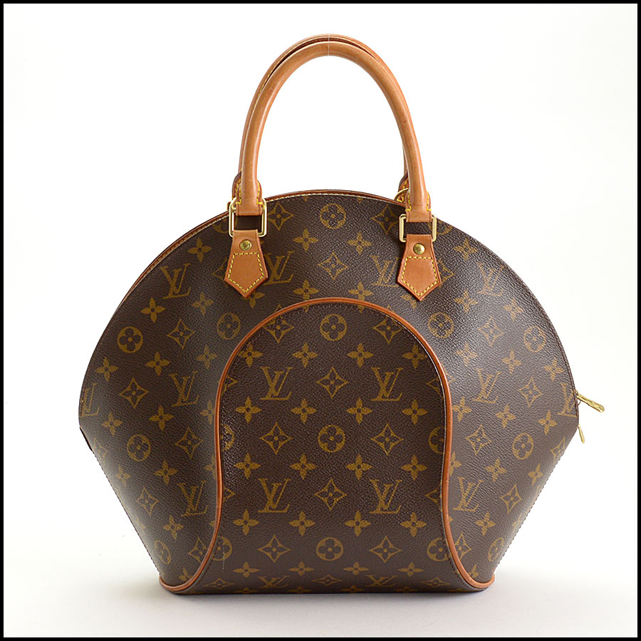 RDC10913 Louis Vuitton LV Monogram Ellipse MM Handbag back
