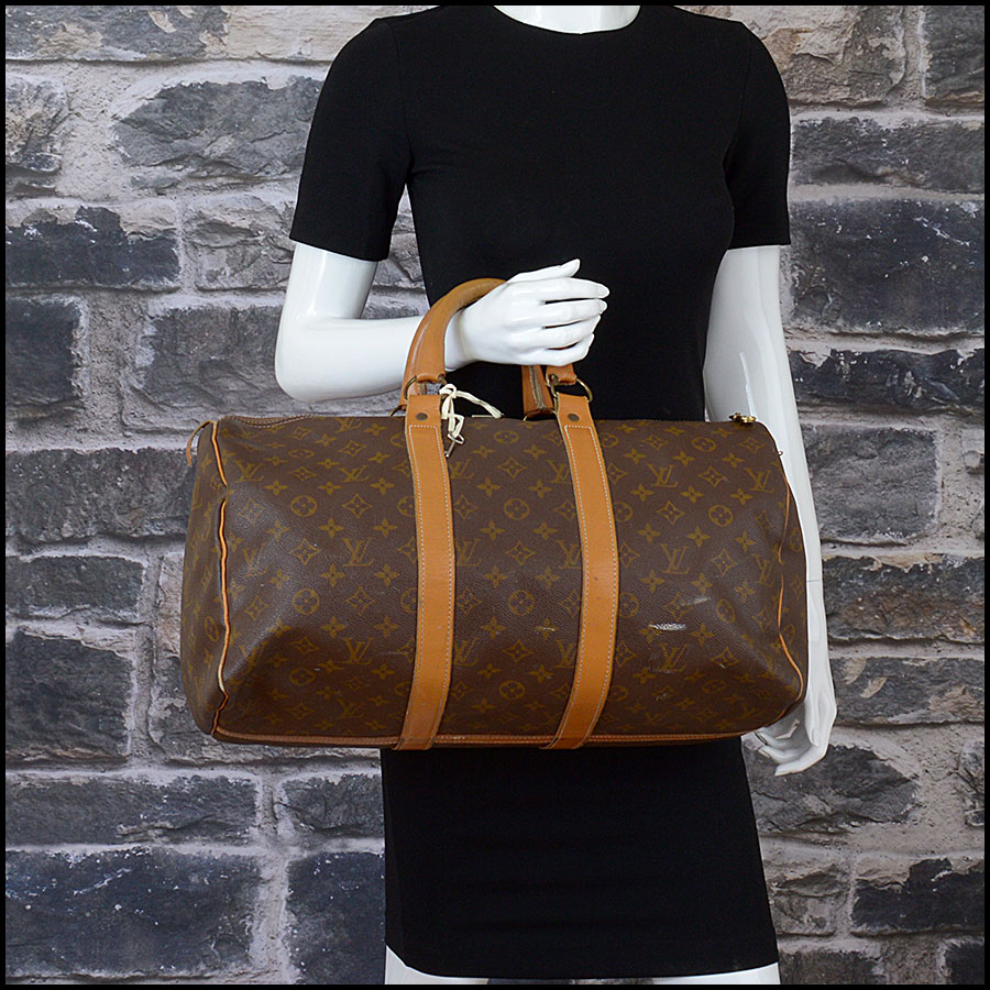 RDC10269 Louis Vuitton French Co. Keepall 45 model
