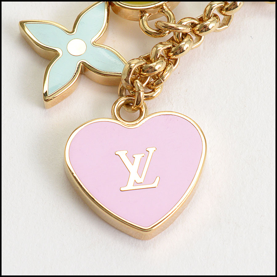 RDC10259 Louis Vuitton Heart/Key/Lock Key Holder logo