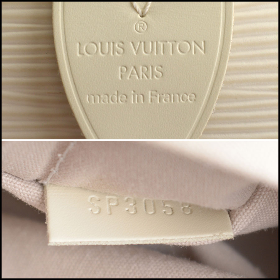 RDC9994 Louis Vuitton Ivory Epi tag
