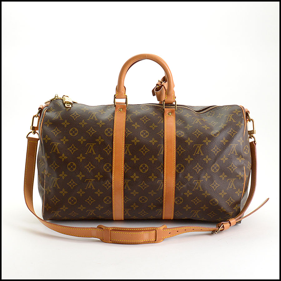 RDC10919 Louis Vuitton Monogram Keepall 45 Bandouliere includes
