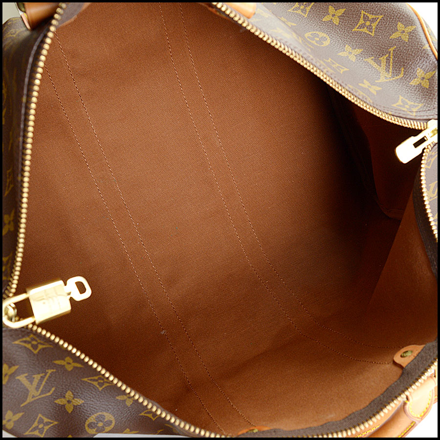 RDC10919 Louis Vuitton Monogram Keepall 45 Bandouliere side