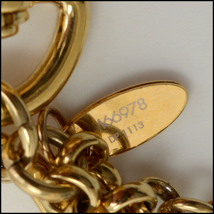 RDC10066 Louis Vuitton Lock Key close up