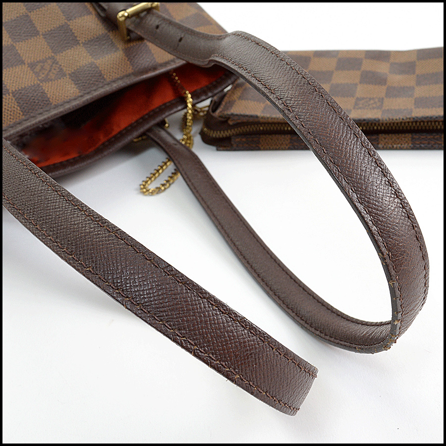 RDC11125 Louis Vuitton Damier Ebene Marais Bucket w/Pouch handle