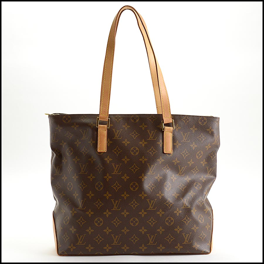 RDC11196 Louis Vuitton Monogram Cabas Mezzo Tote back