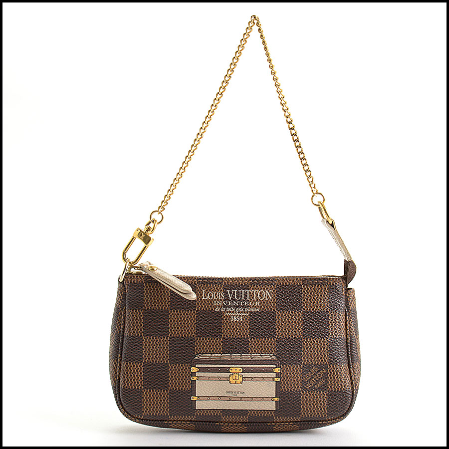 RDC10696 Louis Vuitton Damier Ebene Mini Pochette Bag