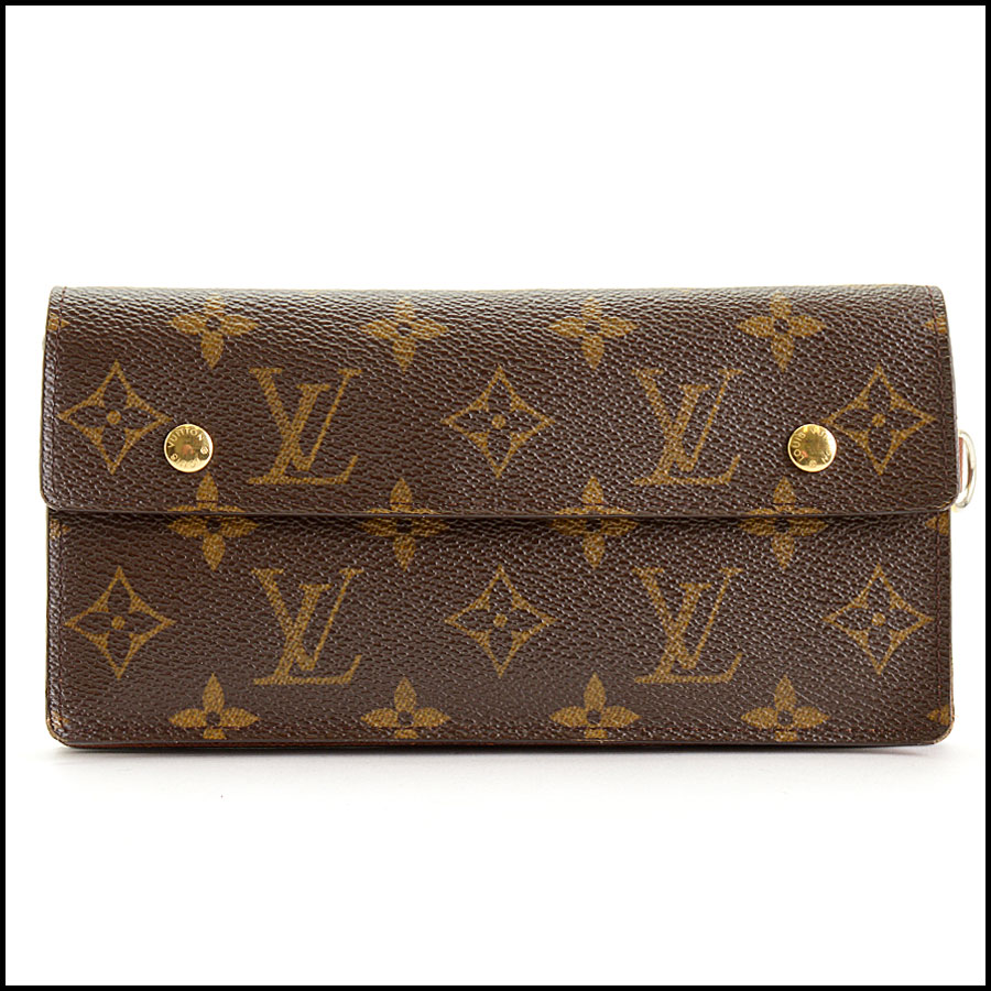 RDC11393 Louis Vuitton Monogram Portefeuille Wallet